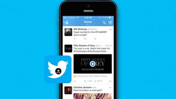 Bajar videos de twitter