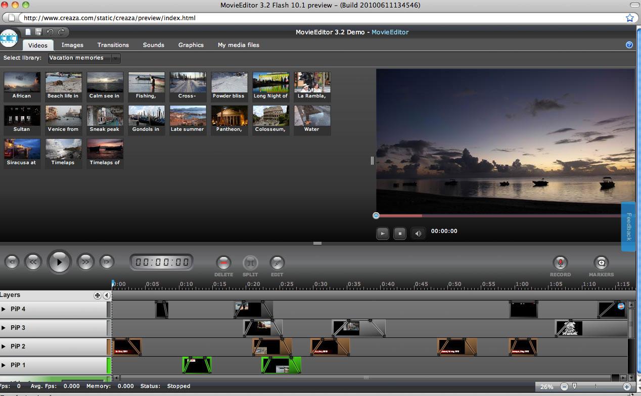 editor de vídeos online sin descargar la aplicación
