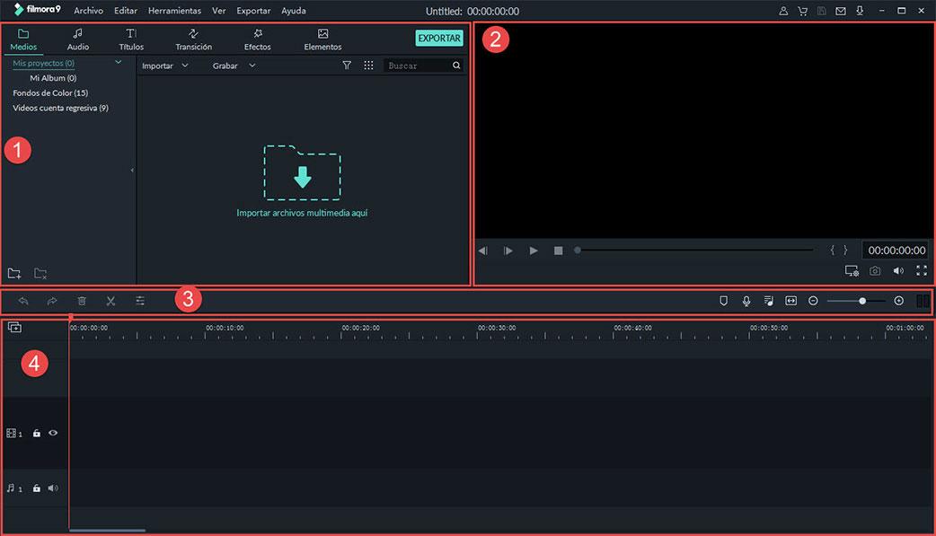 Editor online de vídeos gratis