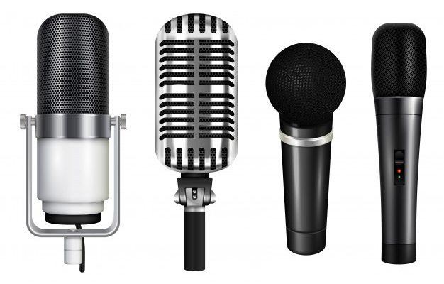 Micrófonos profesionales