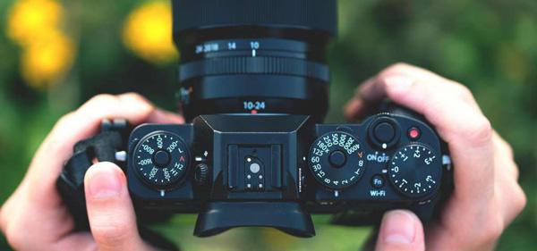 cámara mirroless